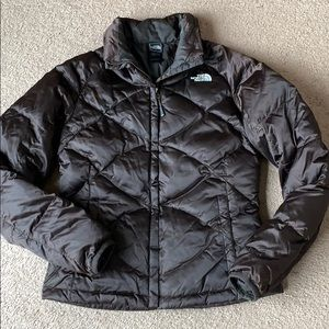 North Face down 550  Filled Jacket women's sz S